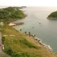 Wind Turbine. Aerial Drone View. Wonderful Sea Landscape. Phuket, Ya Nui Bay, Thailand - VideoHive Item for Sale