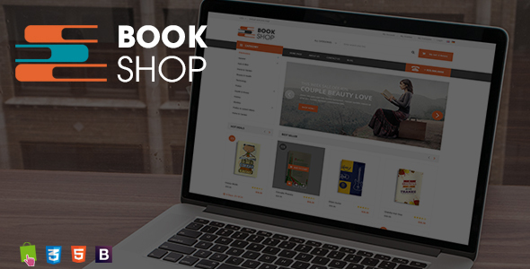 BookShop - Books Library Responsive Prestashop Theme