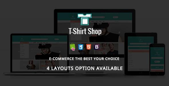 Tshirt Shop - Fashion Responsive Prestashop Theme - Fashion PrestaShop