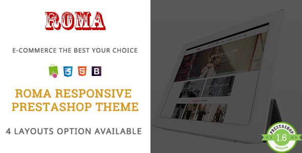 Roma – Fashion Vest & Dress Responsive Prestashop Theme