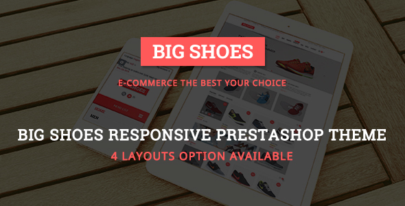 Bigshoes – Shoes Store Responsive Prestashop Theme