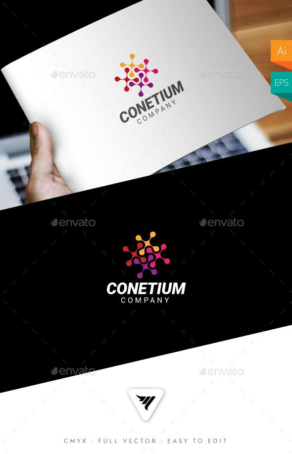 Conetium Logo - Logo Templates