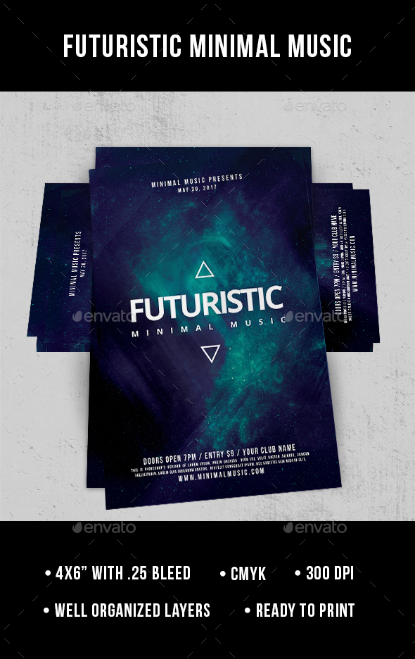 Futuristic - Flyer - Clubs & Parties Events
