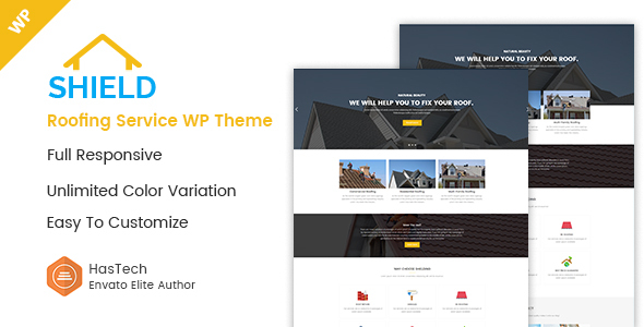Shield – Roofing Service WordPress Theme