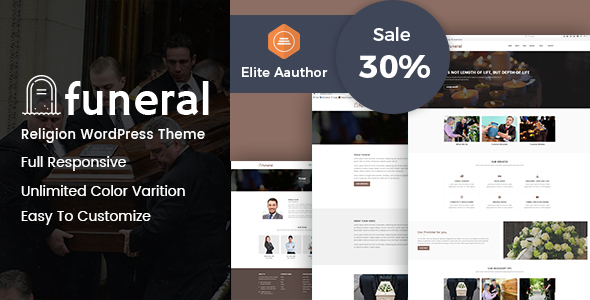 Funeral | Funeral Home WordPress Theme