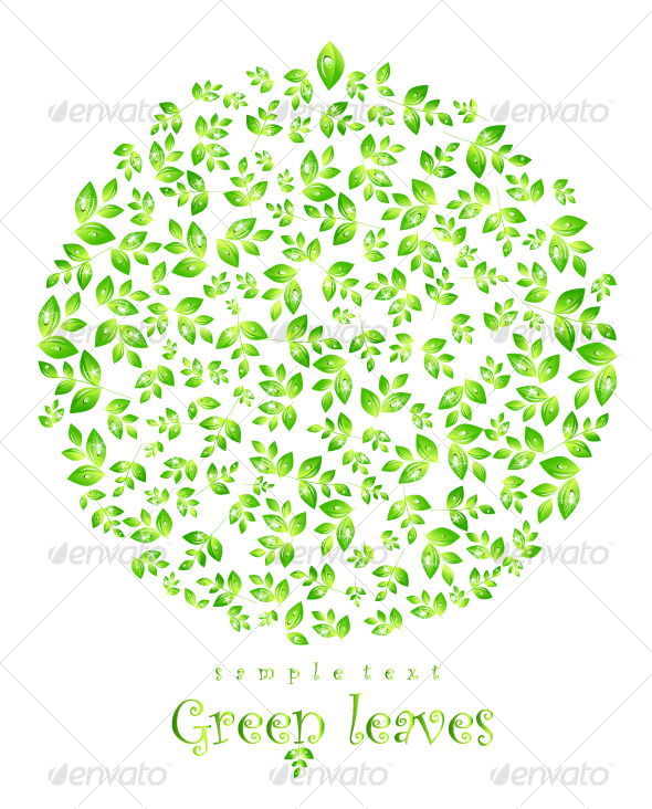 Leaves Composition - Backgrounds Decorative