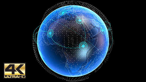 Global Network Connection 4K
