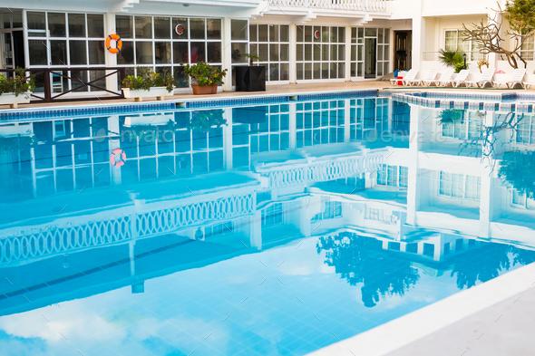 Swimming Pool Of Luxury Hotel Stock Photo By Satura Photodune