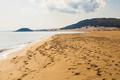 Golden Beach in Cyprus, Karpas Peninsula, North Cyprus.