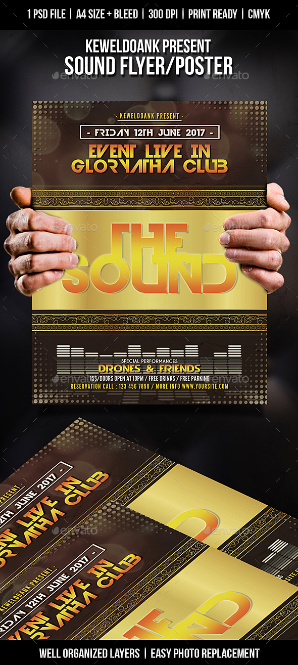 Sound Flyer / Poster - Clubs & Parties Events