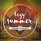 Lazy Summer Party Flyer - GraphicRiver Item for Sale