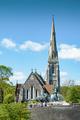 St Alban church an Gefion fountain, Copenhagen - PhotoDune Item for Sale