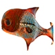 Animate Semi-transparent Fish Model - 3DOcean Item for Sale