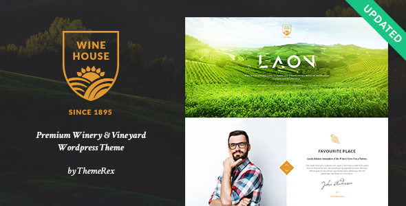 15 WordPress Themes for Pubs, Wineries and Brewery Sites 2019 4