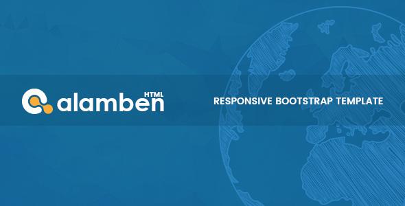 Alamben –  Multipurpose Bootstrap HTML5 Template