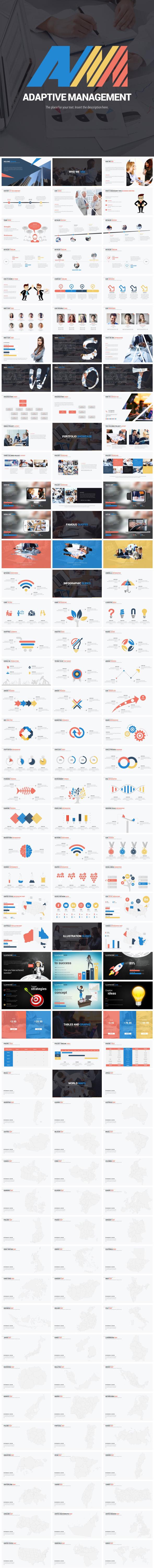 Adaptive Management - Google Slides Presentation Templates