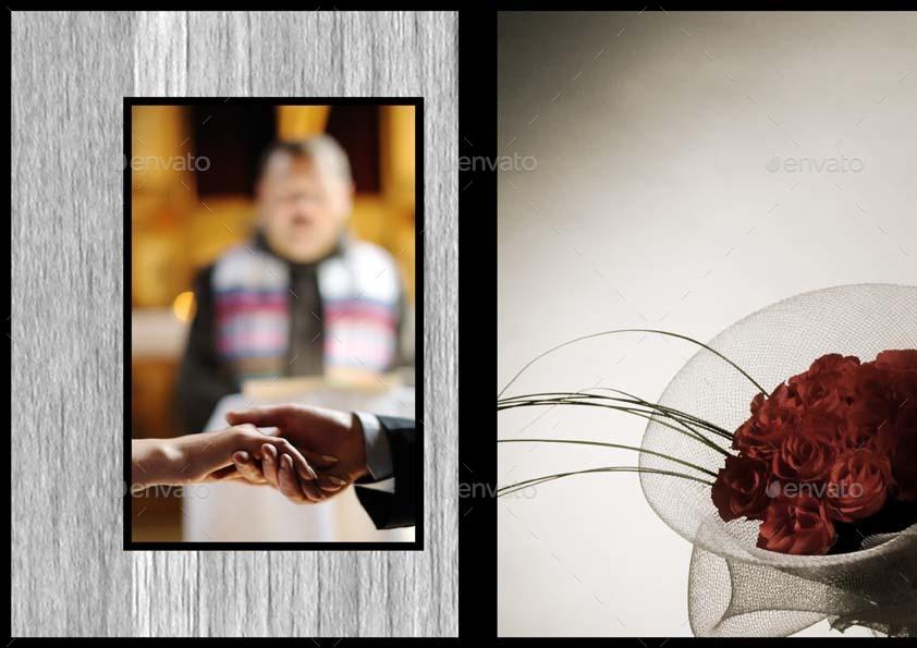 Wedding Photo Album Template M by Keboto | GraphicRiver