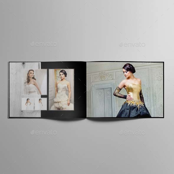 Wedding Photo Album Template by Keboto – Template for Photo Album