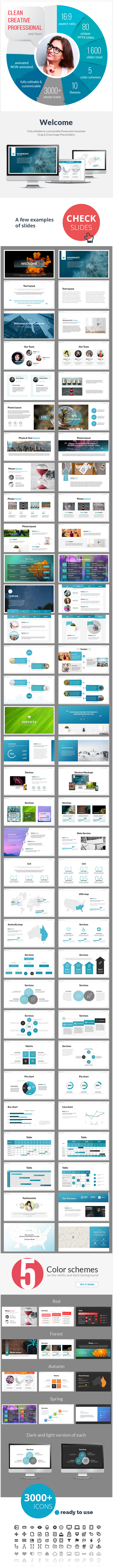 Multipurpose Nonprofit PowerPoint Presentation Template - PowerPoint Templates Presentation Templates