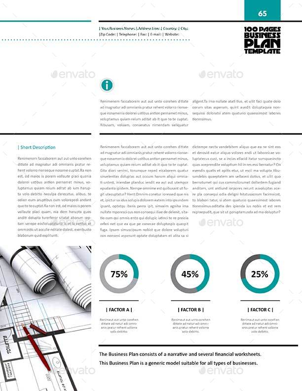 Pages Business Plan Template Letter By Keboto GraphicRiver - Pages business plan template