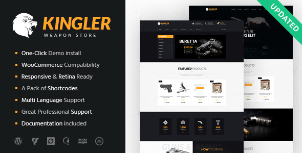 Image of Kingler | Weapon Store & Gun Training Theme