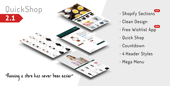 Quickshop - Responsive Drag&Drop Shopify Theme - Fashion Shopify