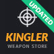 Kingler | Weapon Store & Gun Training Theme - ThemeForest Item for Sale
