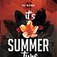 Summer Time Flyer - GraphicRiver Item for Sale