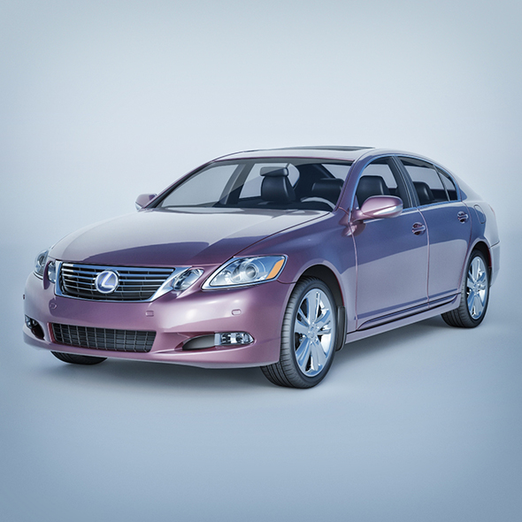 Vray Ready Lexus Gs Car - 3DOcean Item for Sale