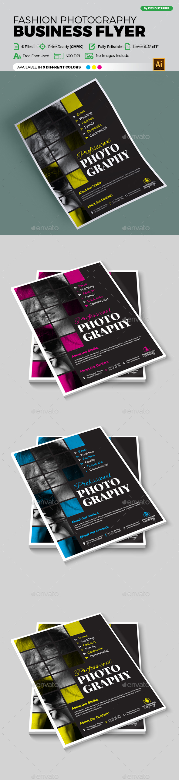 Flyer – Multipurpose 316 - Flyers Print Templates