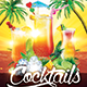 Cocktails Flyer - GraphicRiver Item for Sale