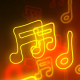 Music Notes Neon 1 - VideoHive Item for Sale