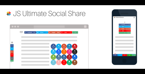 JS Ultimate Social Share for Joomla! - CodeCanyon Item for Sale