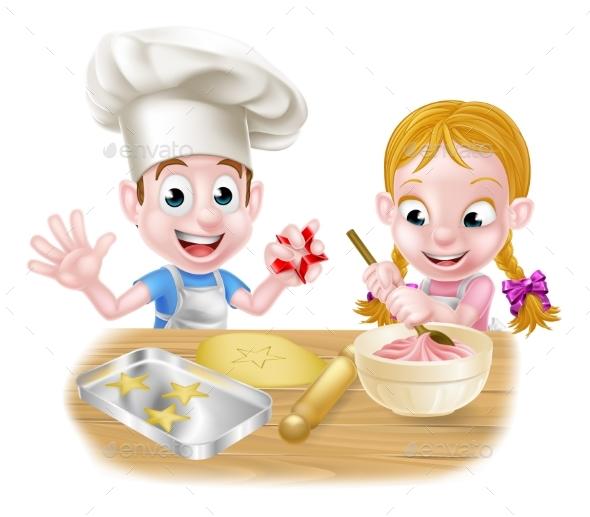 Kids Baking - Food Objects