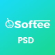 Softee - Software PSD Template - ThemeForest Item for Sale