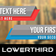 Flat Simple Lowerthird 3 - VideoHive Item for Sale