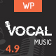 Vocal - Music Event WordPress Theme Nulled