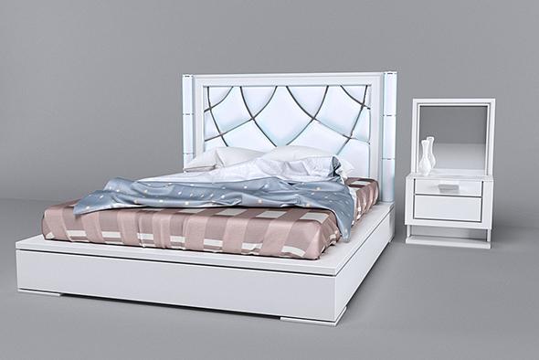 bed2_Roisss - 3DOcean Item for Sale