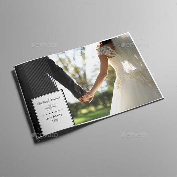 wedding photobook template c by keboto graphicriver. Black Bedroom Furniture Sets. Home Design Ideas