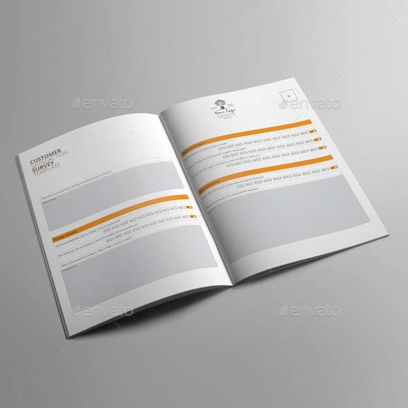 Customer Satisfaction Survey Template By Keboto | Graphicriver