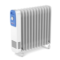 Electric oil filled heater on white background - PhotoDune Item for Sale