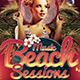 Beach Night Sessions Flyer Template - GraphicRiver Item for Sale