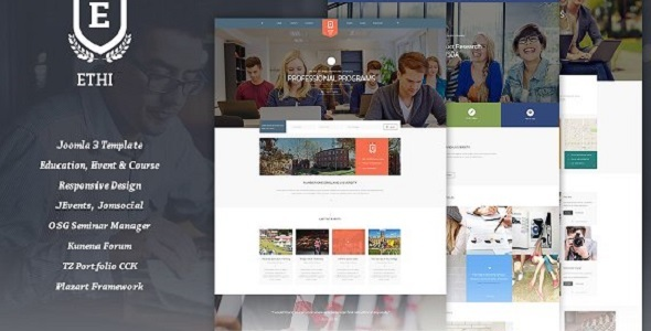 Ethi – Education Responsive Joomla Template