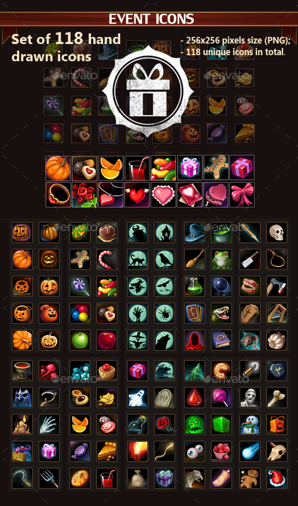 Event Icons - Miscellaneous Game Assets