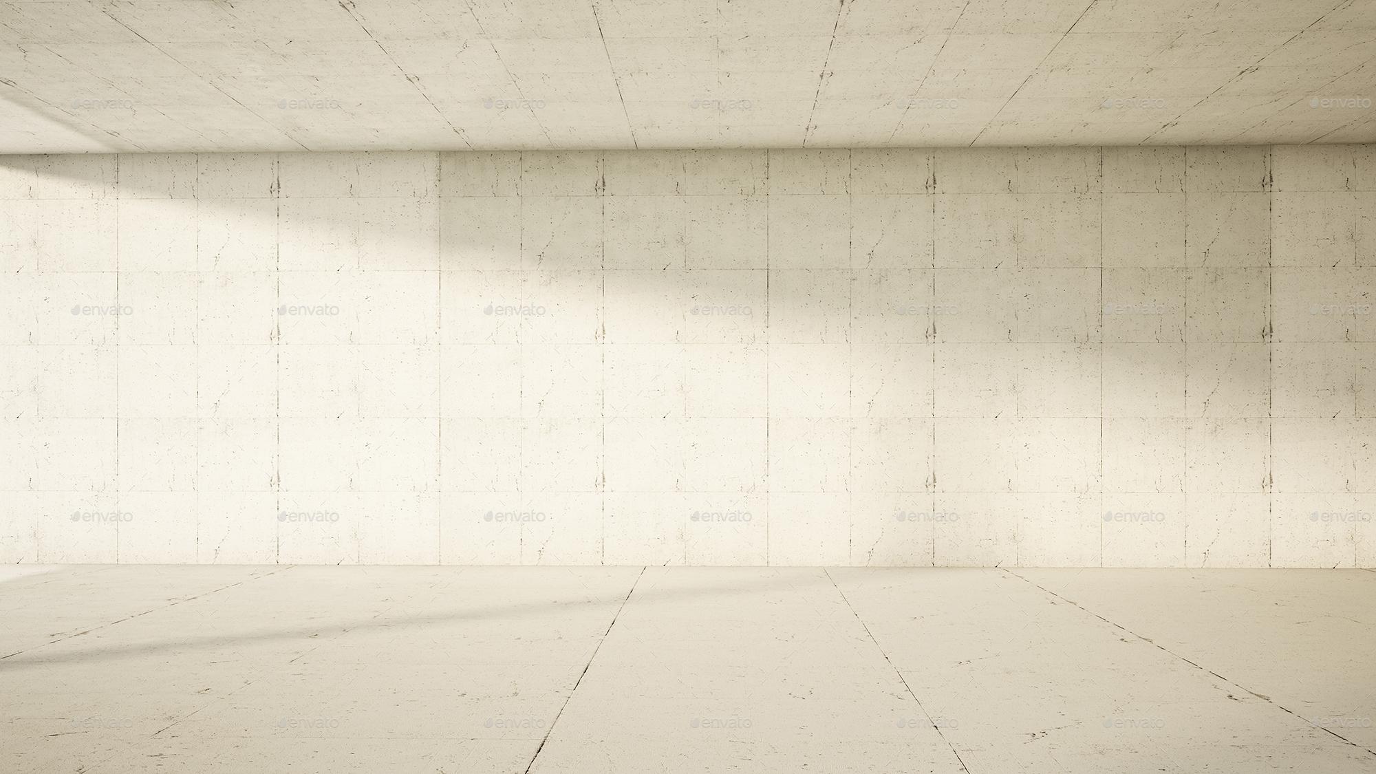 empty interior frontal concrete 3d illustration preview image setempty interior frontal concrete 3d illustration 1jpg
