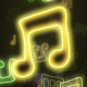 Music Notes Neon 4 - VideoHive Item for Sale