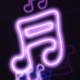 Music Notes Neon 3 - VideoHive Item for Sale