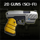 Sci-Fi Guns Set - GraphicRiver Item for Sale