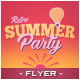 Summer Sunset Flyer - GraphicRiver Item for Sale