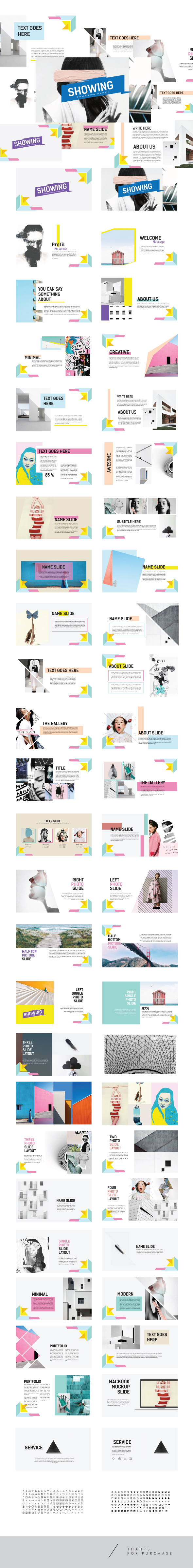 ShowUp - Multipurpose Creative Template PPTX - Abstract PowerPoint Templates